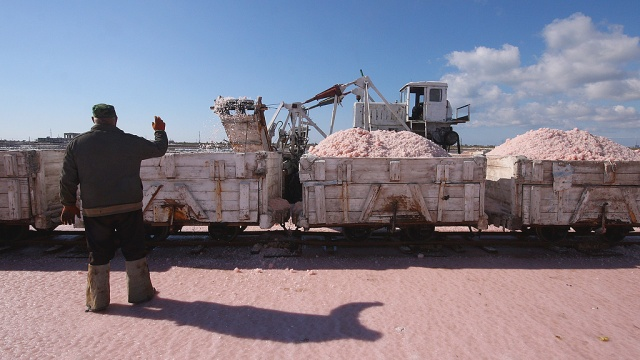 Украина нарастила поставки соли вРФ перед предстоящим эмбарго
