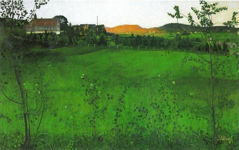 Harald Sohlberg (Norwegian, 1869-1935) - Modne jorder
