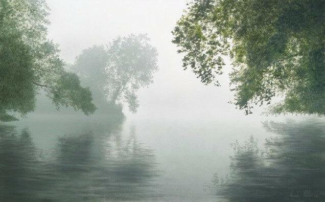 Туман на реке Делавэр