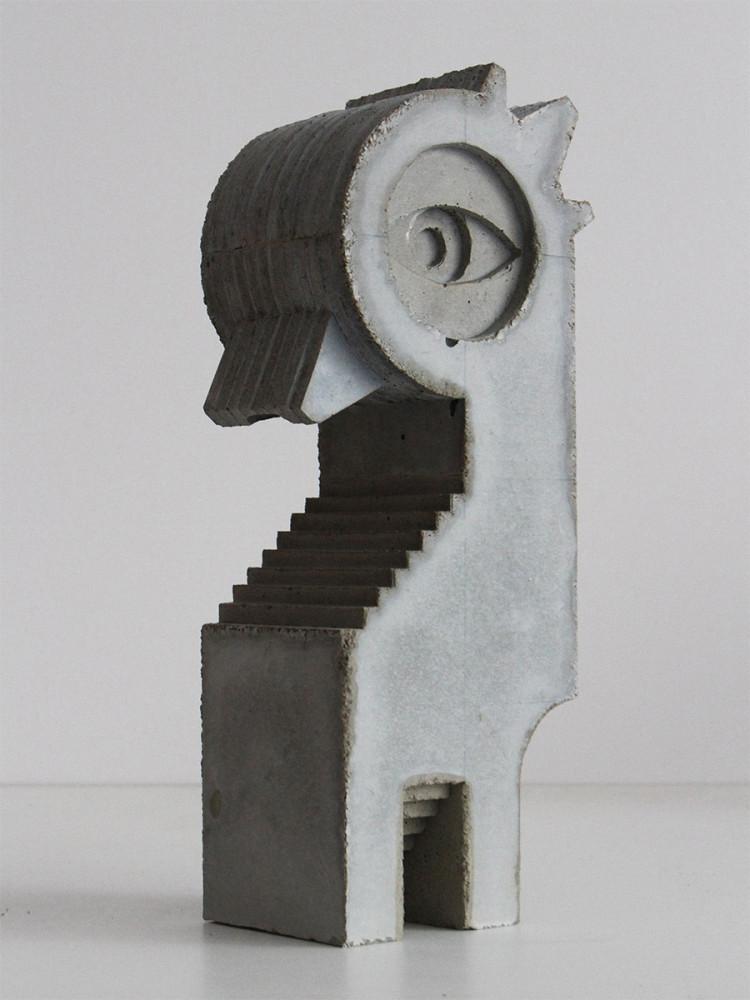 Concrete Architectural Sculptures by David Umemoto Canadian architect and sculptor David Umemoto cre
