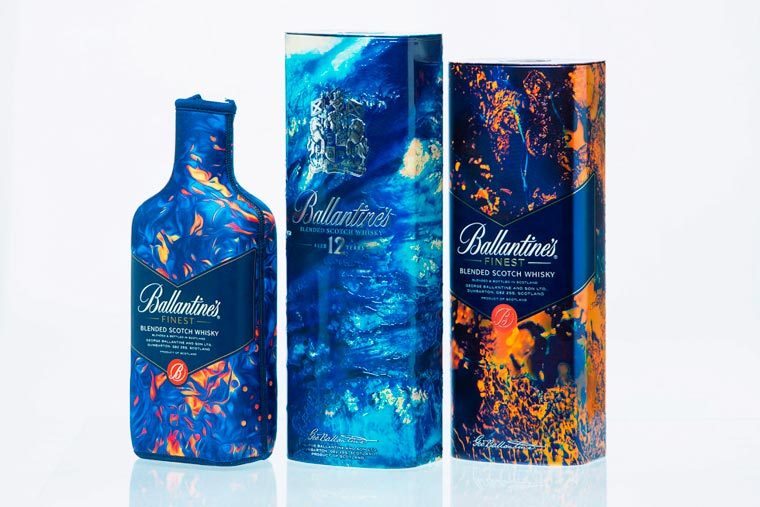 Leif Podhajsky - Meeting the artist on the beautiful Scottish lands of Ballantine's
