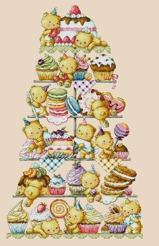 Мишки сладкоежки схема