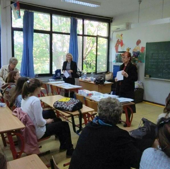 Сербия, олимпиада по языкам, школа