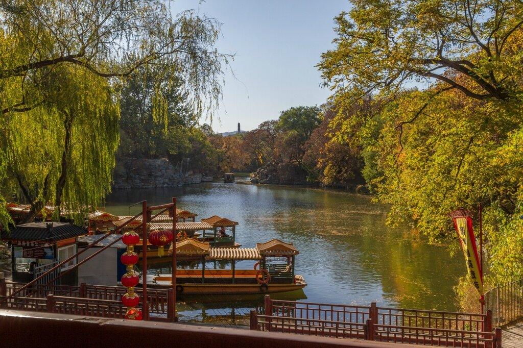 парк Ихэюань, пагода Юйфэн,