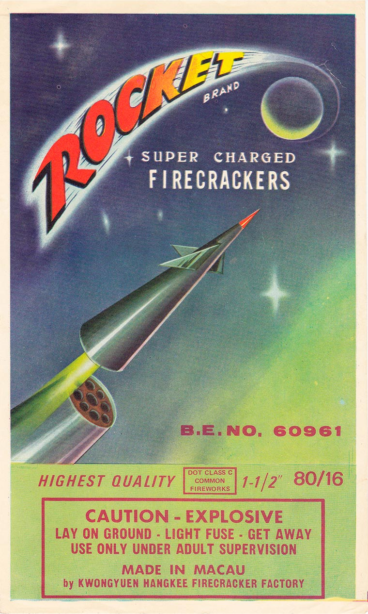 Chinese Firecrackers - An impressive collection of vintage labels