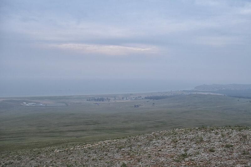 Байкал на горизонте
