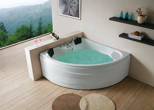 Угловая ванна-комфорт и отдых