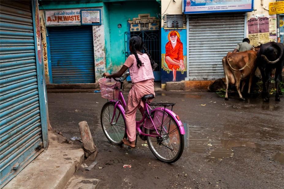 Велосипеды в Индии / Mahesh Balasubramanian - Bicycles