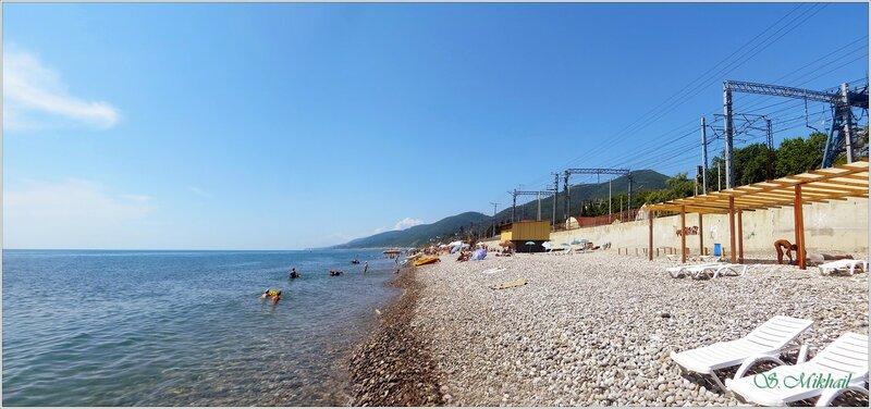 Лето в Лазаревской.