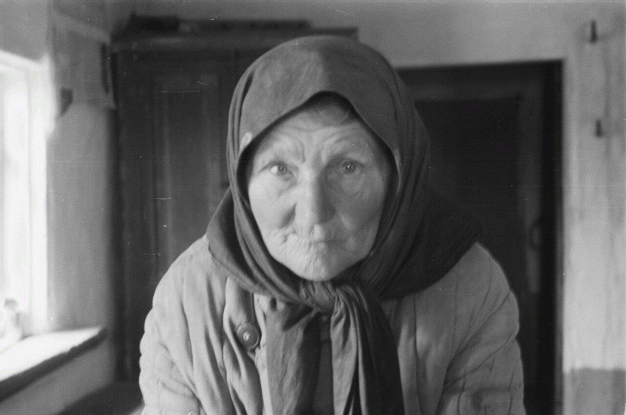 Портрет пожилой крестьянки