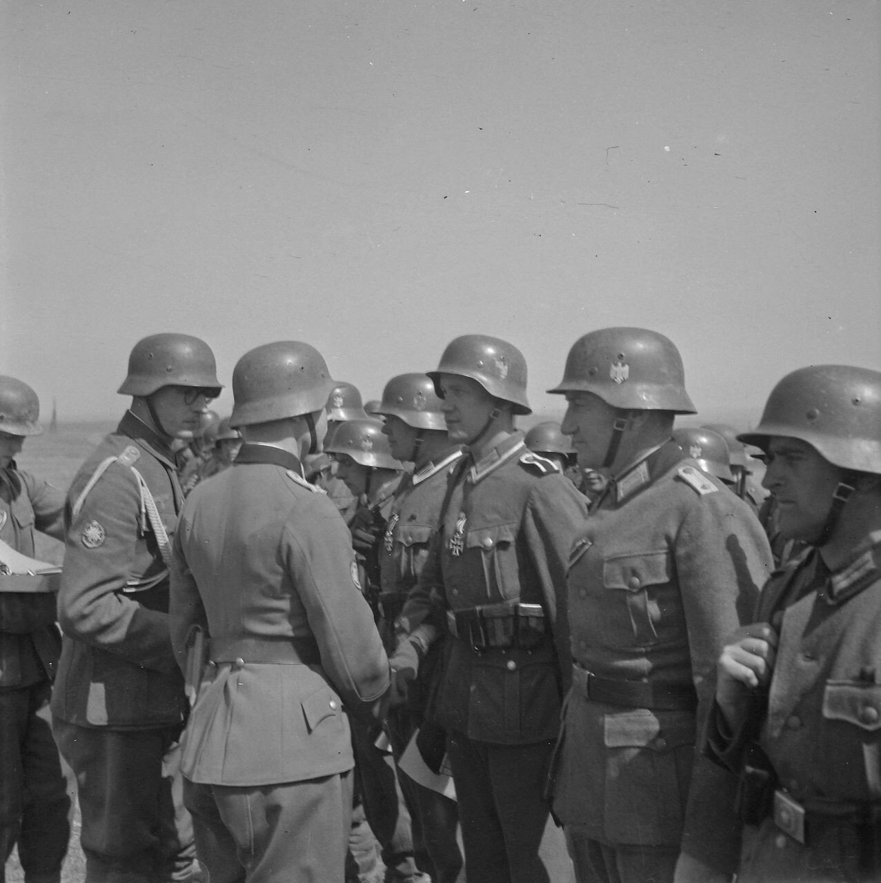 Солдаты, награжденые Железными крестами