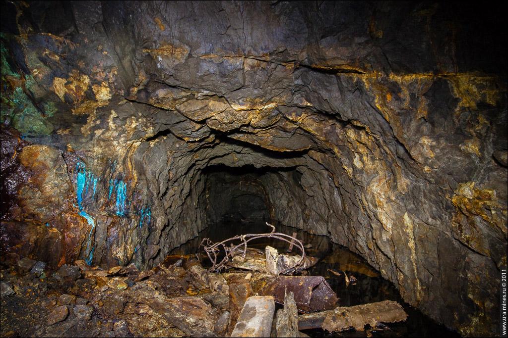 Заброшенная шахта Эксплуатационная