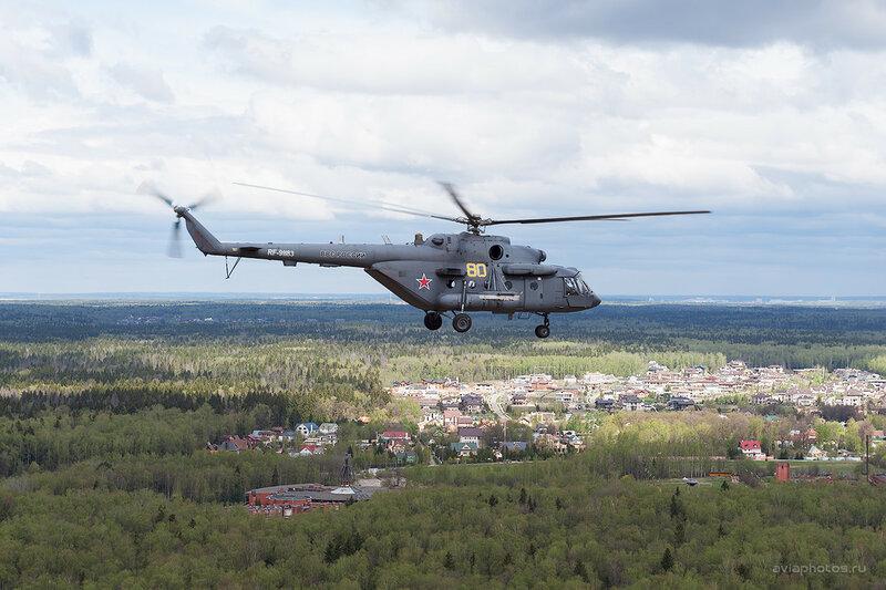 Миль Ми-8МТВ-5 (RF-91183 / 80 желтый) ВКС России _D700610