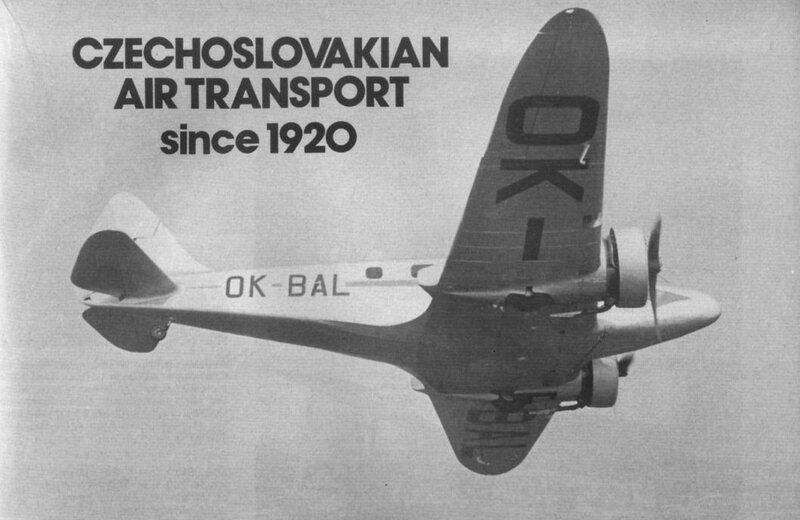 Airspeed. A.S.6E Envoy III OK-BAL