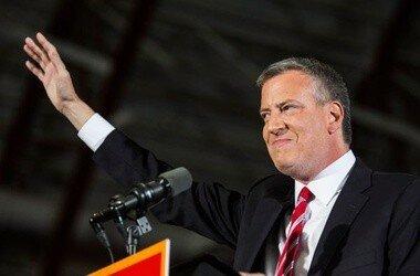 Мэр Нью-Йорка расстроил Хиллари Клинтон расистской шуткой
