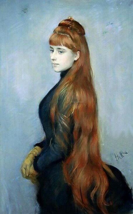 Поль Эллё. Портрет Алисы Герен, 1900