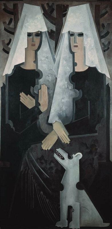 6. Н. Гончарова. Две испанки. 1920-е. ГТГ.jpg