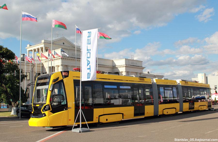 Белорусский трамвайчик