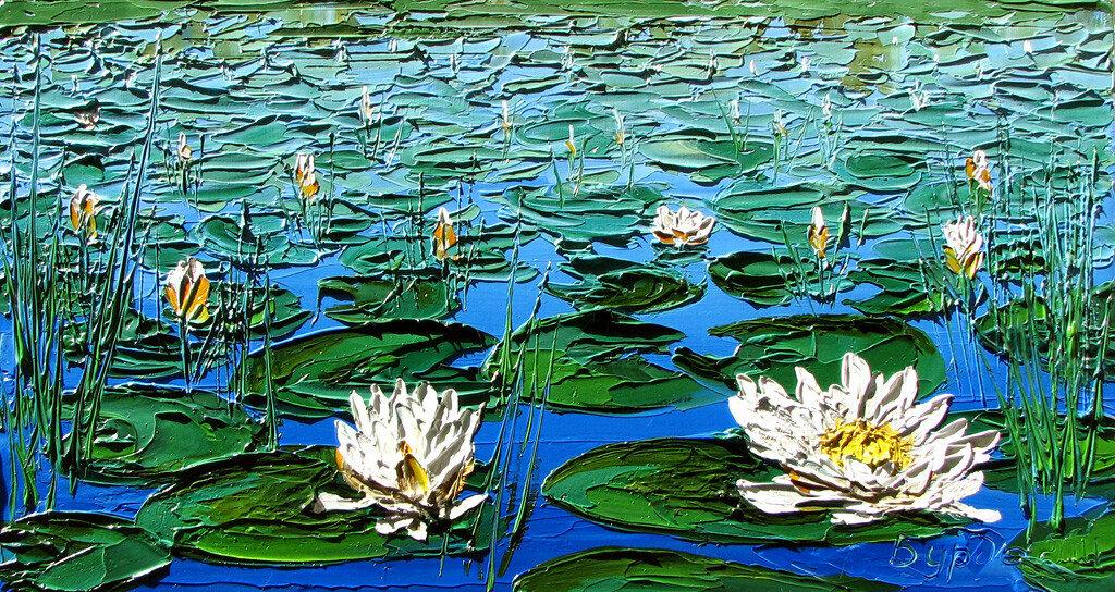 Кто рисовал водяные лилии