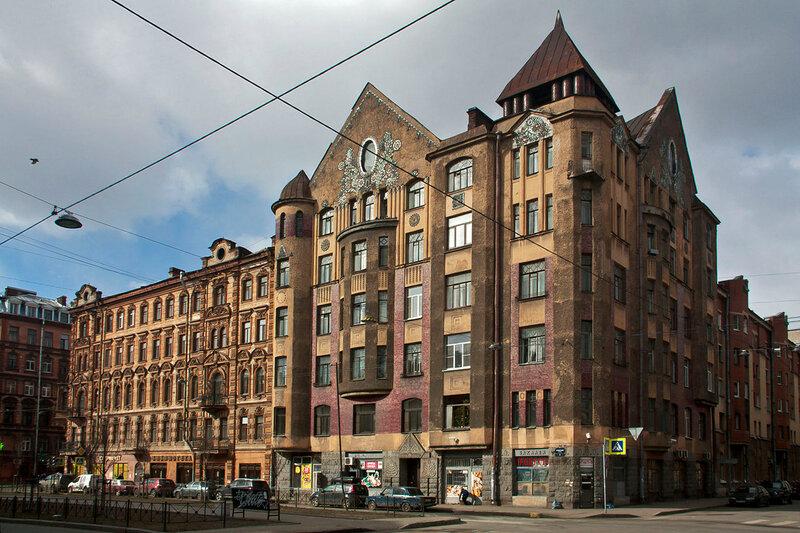 Доходный дом Захарова в Санкт - Петербурге