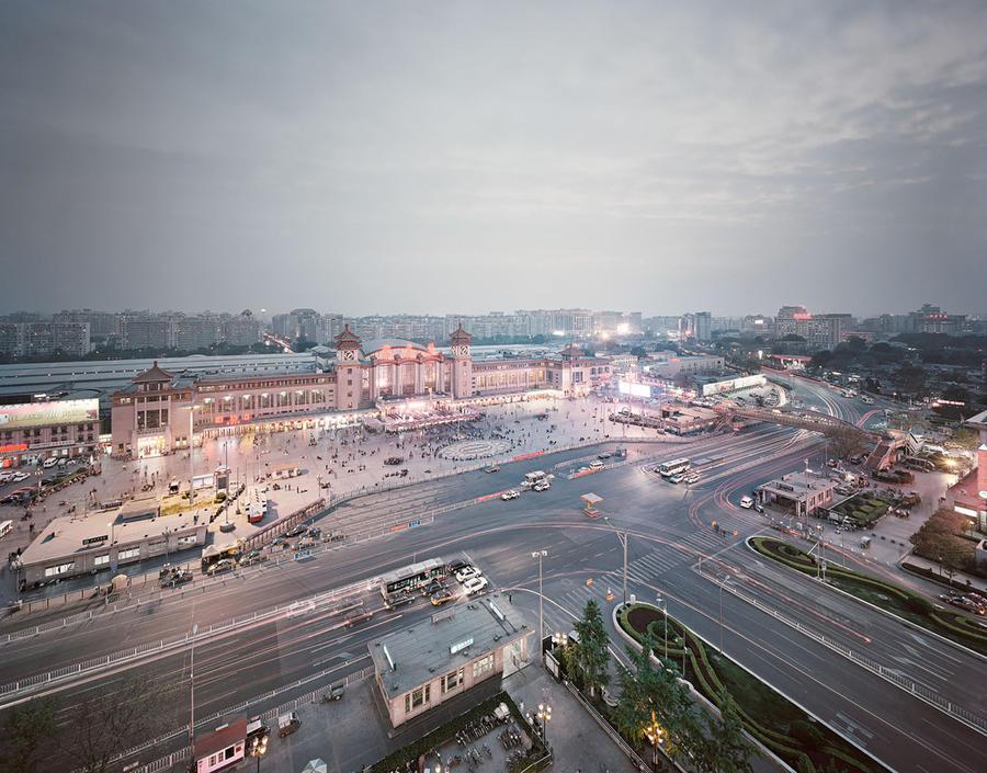 10. Вокзал в Пекине, Китай Он был построен в 1901 году во время правления династии Цин. Позднее стан