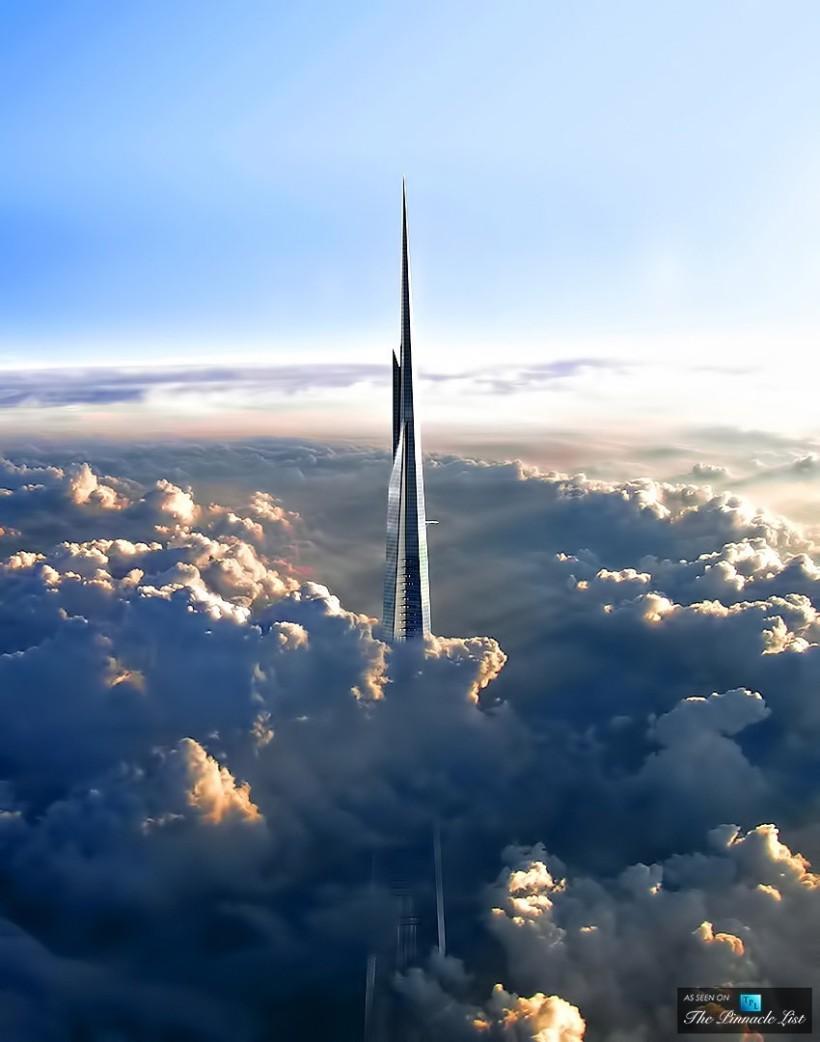 1. Kingdom Tower в Джидде, Саудовская Аравия Строительство этой конструкции было начало в 2013 году,