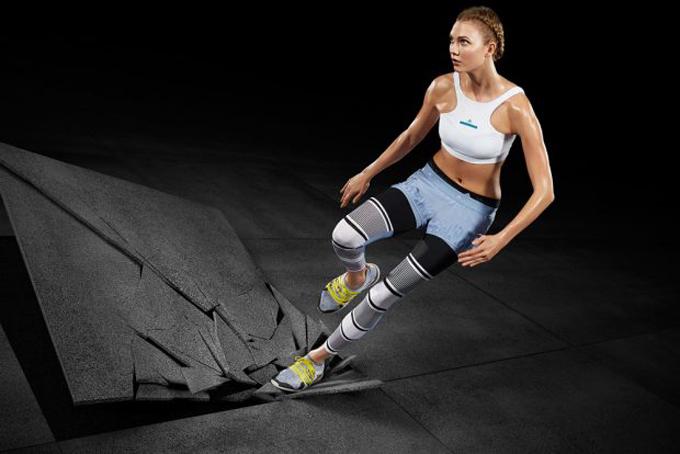 Рекламаная кампания Adidas от Стеллы МакКартни (4 фото)