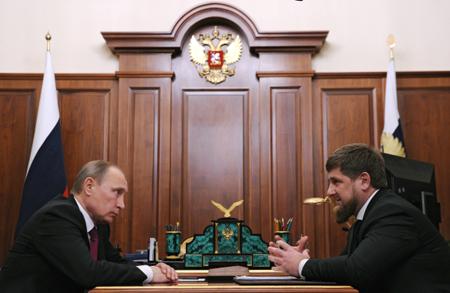 Путин назначает Кадырова и.о.главы Чечни
