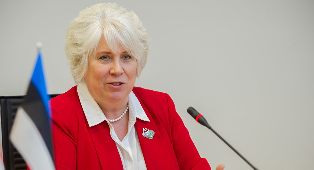 Руководитель МИД Эстонии ушла вотставку для борьбы запост президента