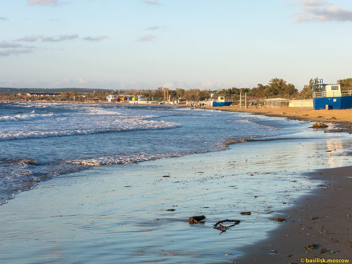 Анапский пляж. Октябрь 2016
