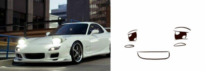 У каждого автомобиля есть свое лицо