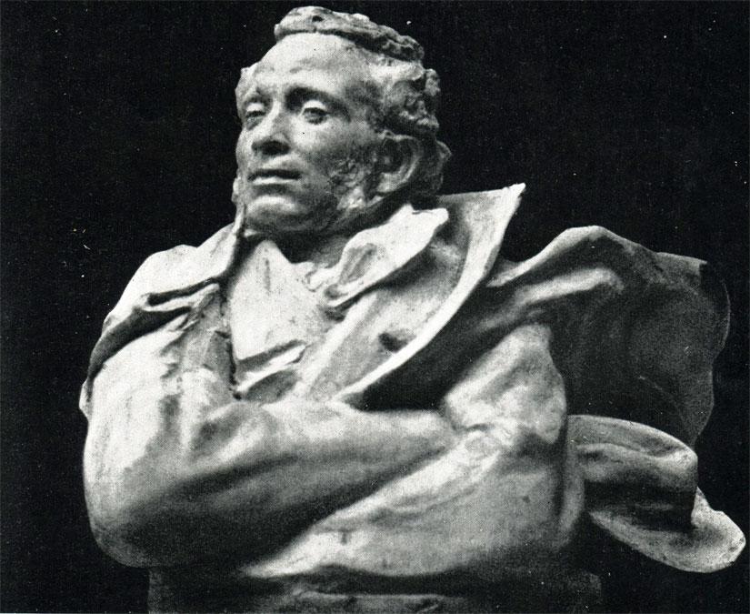 А. С. Пушкин. Бюст. 1902 г.