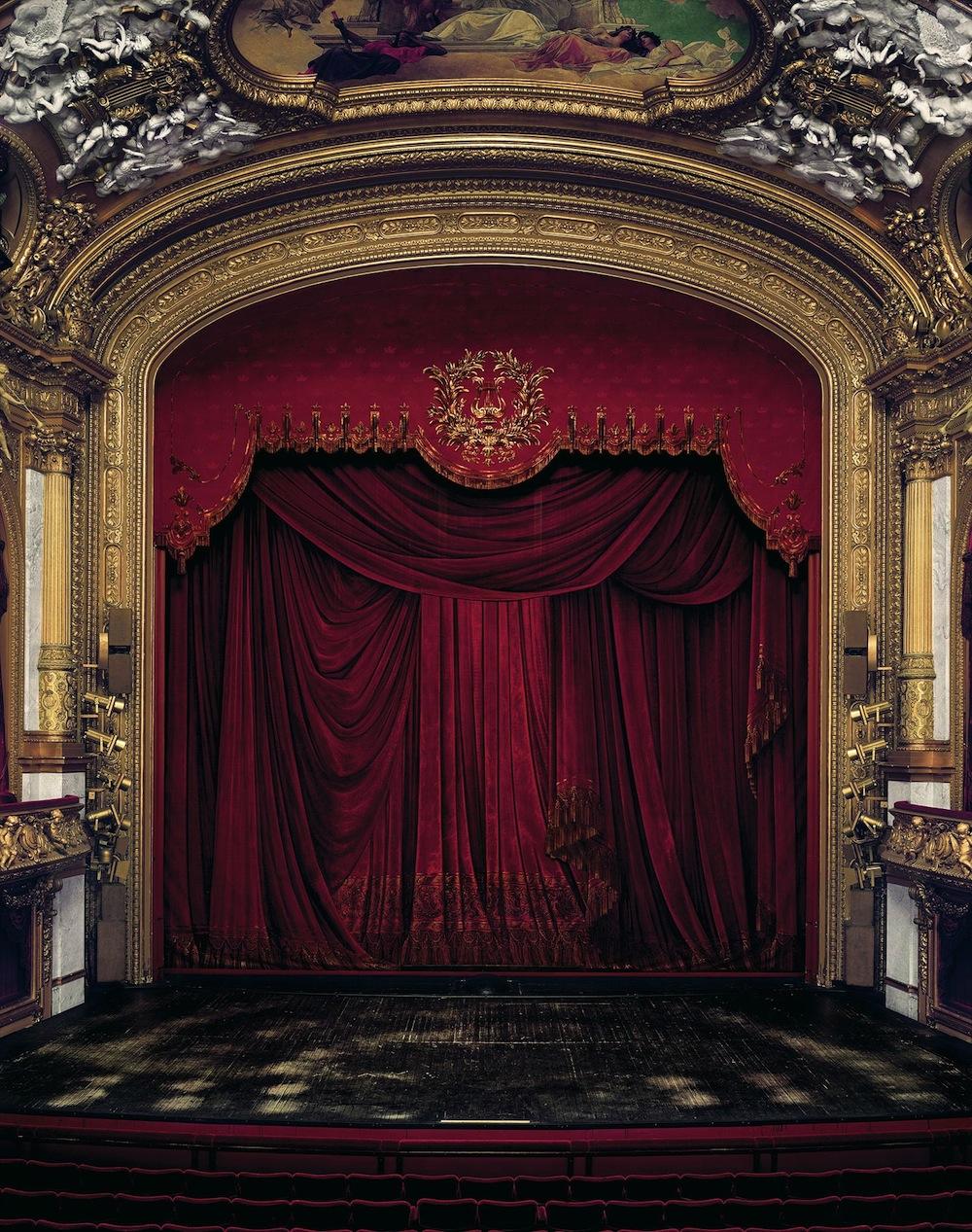 Curtain, Royal Swedish Opera, STOCKHOLM, SWEDEN, 2008