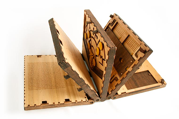 Codex Silenda - An impressive book where each page is a puzzle