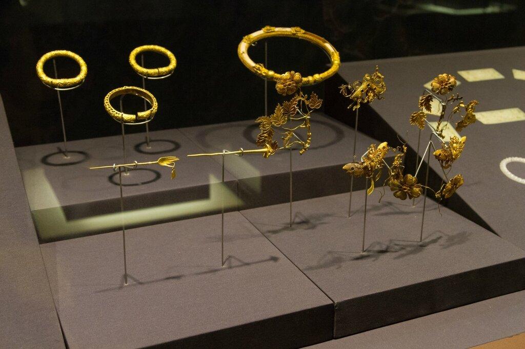 Золотые украшения, Музей района Хайдянь