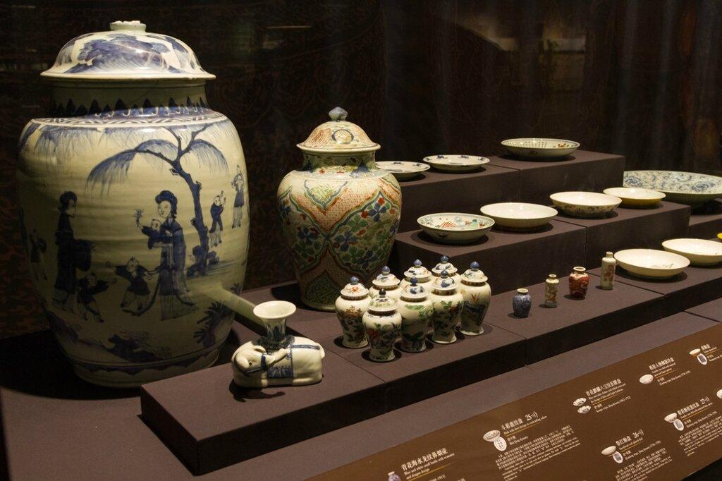 Керамика эпохи Цин, Музей района Хайдянь