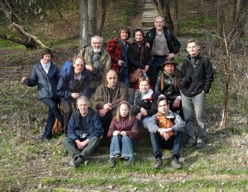 Участники похода на остров Мневники