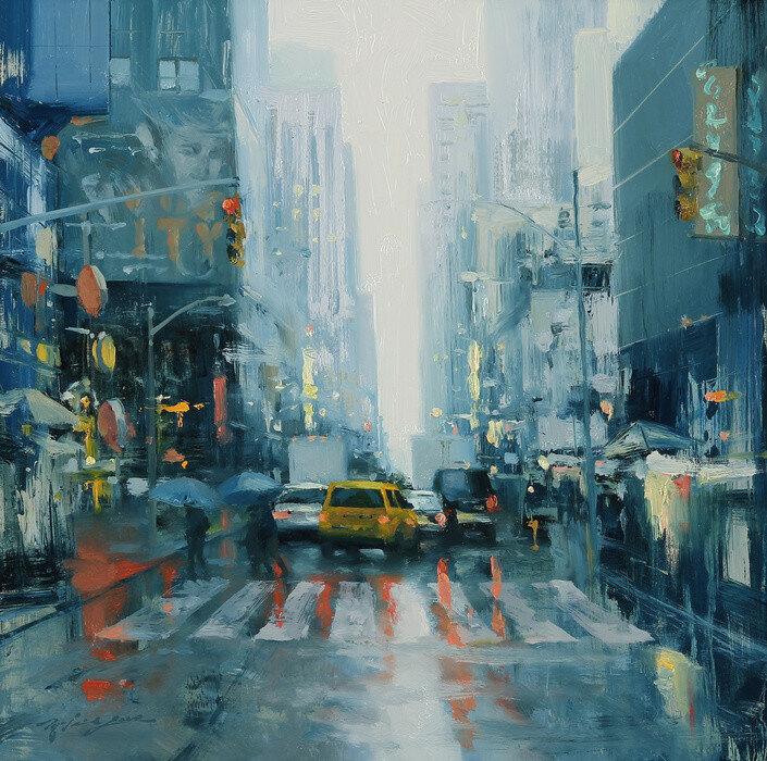 Hsin-Yao_Tseng_Broadway_Reflection_Oil_on_Panel_16_x16__2015_pepsxv.jpg
