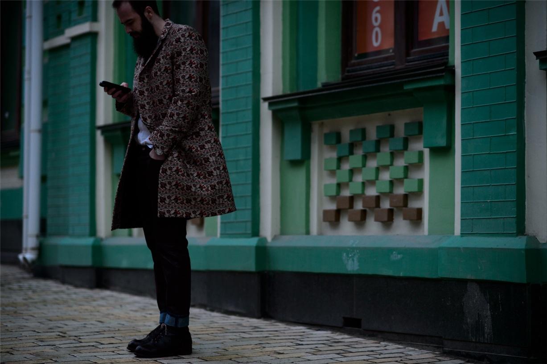Уличная мода Киева - Даниэль Подольский / Daniel Podolskyi - Ukrainian Fashion Week Fall 2016 Street Style by Adam Katz Sinding