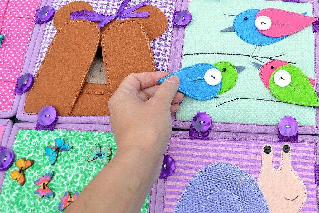 кубики покрывало подушка комплект в детскую салатовый сиреневый (13).JPG
