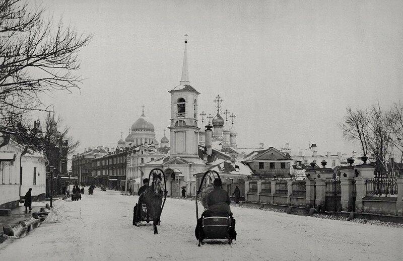 Остоженка. 1890-е гг.