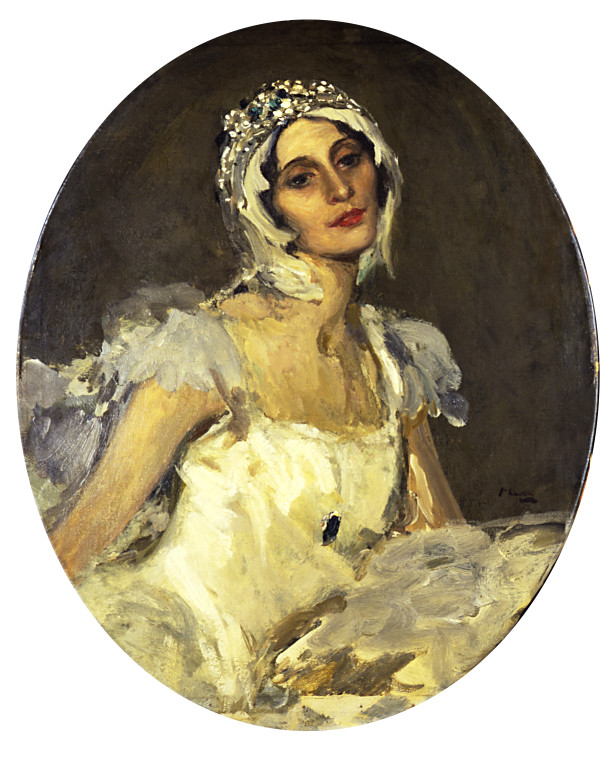 Anna Pavlova as The Swan Lavery, John Sir.jpg