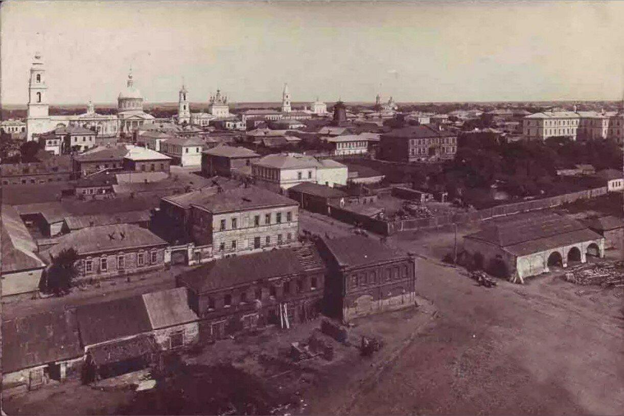 Вид с колокольни церкви св. Николая