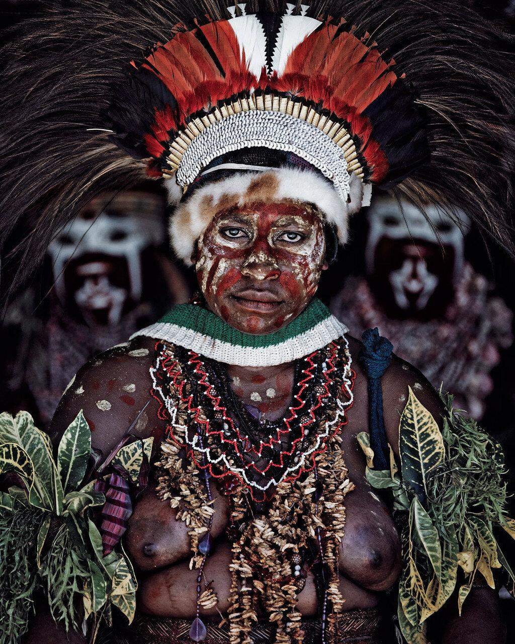 Джимми Нельсон. Проект «Пока они не исчезли». Папуа-Новая Гвинея. Народности горока и хули