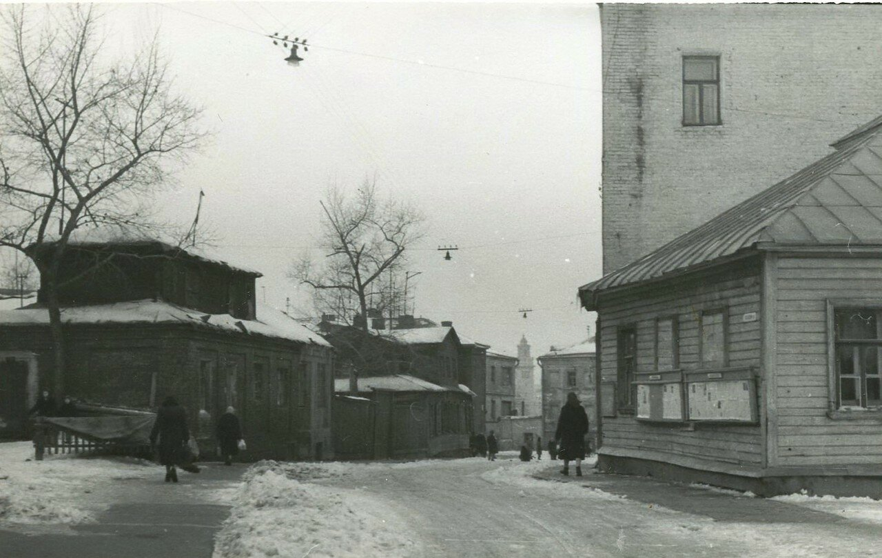 1960-е. Первый Ростовский переулок