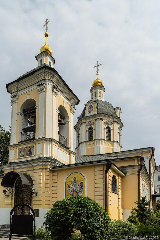 Церковь Николая Чудотворца в Звонарях