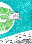 Груздев Артем (рук. Булина Наталья Александровна) - Шатл в космосе
