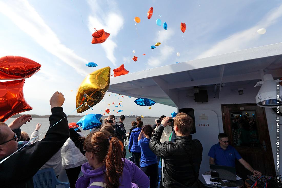 запуск шаров на Фурманове