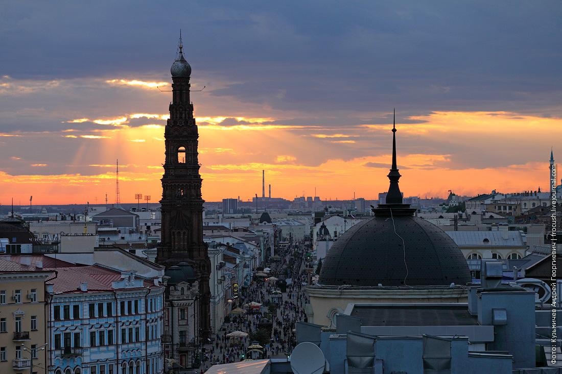 Казань высотная фото