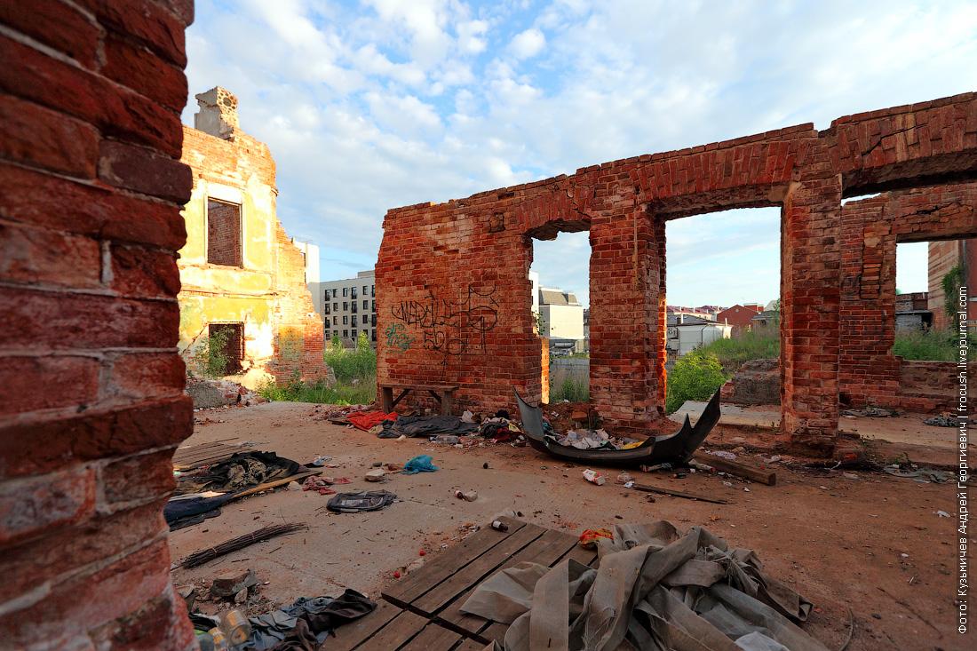 Казань развалины